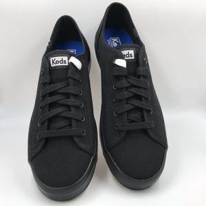 Womens Size 9 M Flats New Keds Kickstart Black